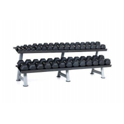 Set of Urethane U2 Dumbbells, 5lbs to 45lbs